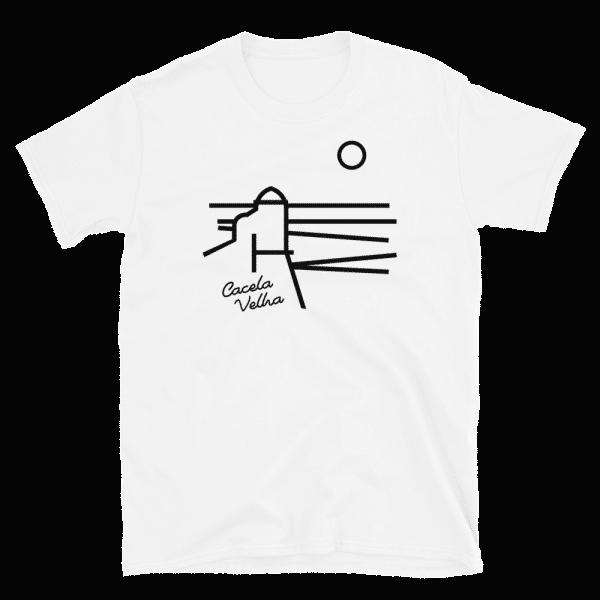 T-shirt Branca Linhas de Cacela Velha