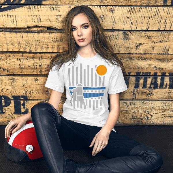 T-shirt Listada de Cacela Velha